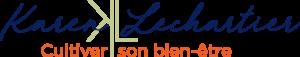 Logo Cultiver son bien-être avec Karen Lechartier