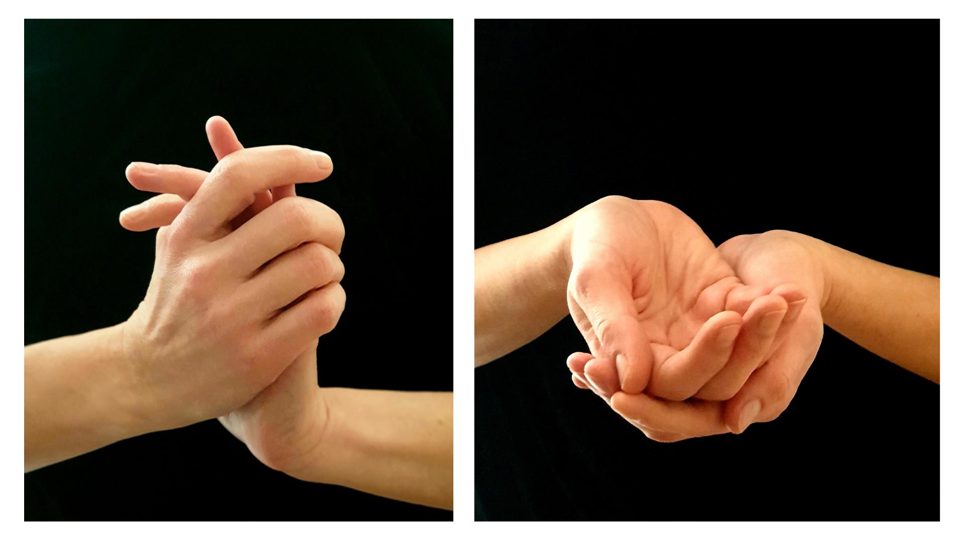 image de mains qui vont masser